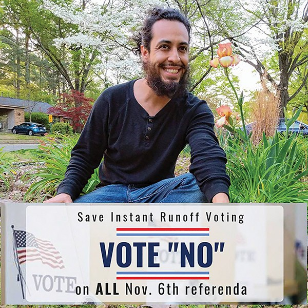 Carlos Ochoa, Save Instant Runoff Voting - CARLOS OCHOA/FACEBOOK