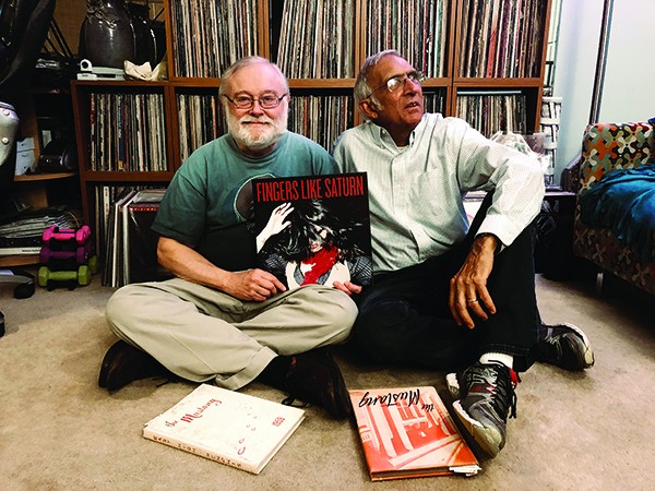 Dennis Black (left) and Robert Wyatt (right)