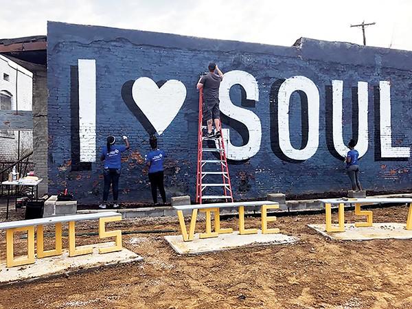 Clean Memphis volunteers - clean up Soulsville. - FACEBOOK/CLEAN MEMPHIS