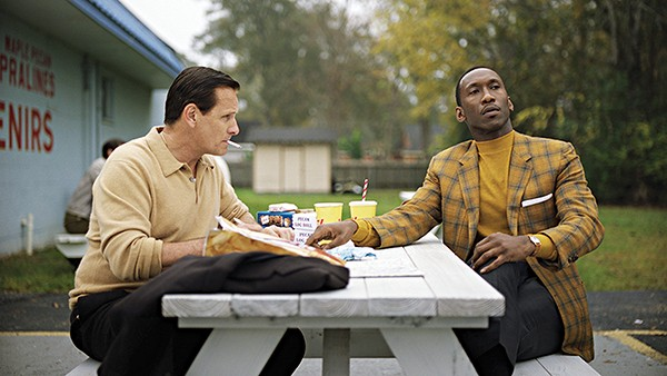 Viggo Mortensen (left) and Mahershala Ali take to the road in Peter Farrelly's Green Book.