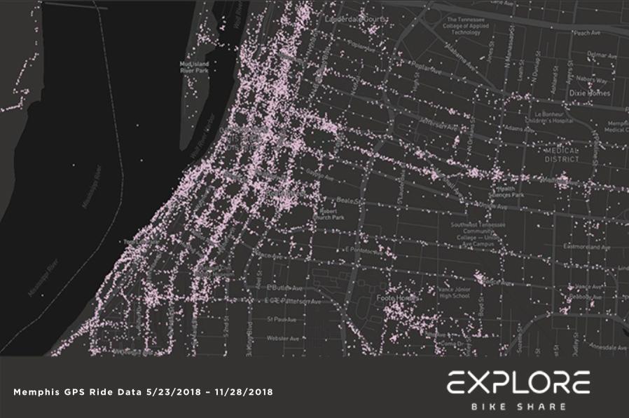 Downtown Core. - EXPLORE BIKE SHARE