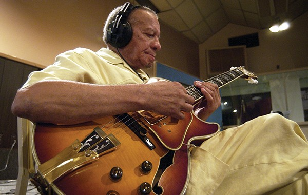 Working in the studio. - MIKE BROWN