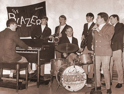 The Memphis Blazers, ca. 1967, with Swain Schaefer on organ