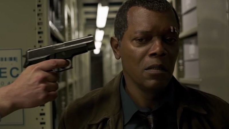 Say what again to Samuel L. Jackson as Nick Fury.