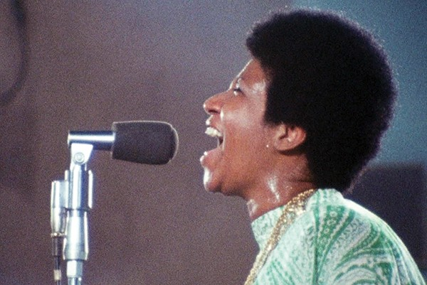 Amazing Grace showcases Aretha Franklin's amazing voice. - AMAZING GRACE LLC