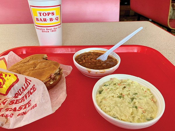 Tops Bar-B-Q - CHRIS MCCOY