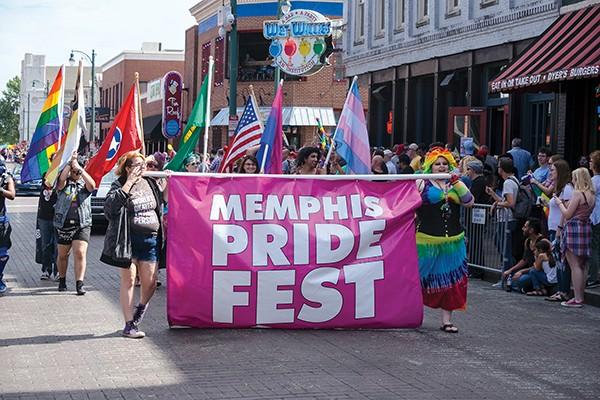 Memphis Pride Parade - BLAKE BILLINGS   DREAMSTIME.COM