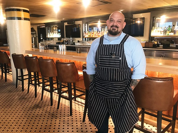Chef David Todd poses in Longshot. - PHOTOGRAPHS BY LORNA FIELD