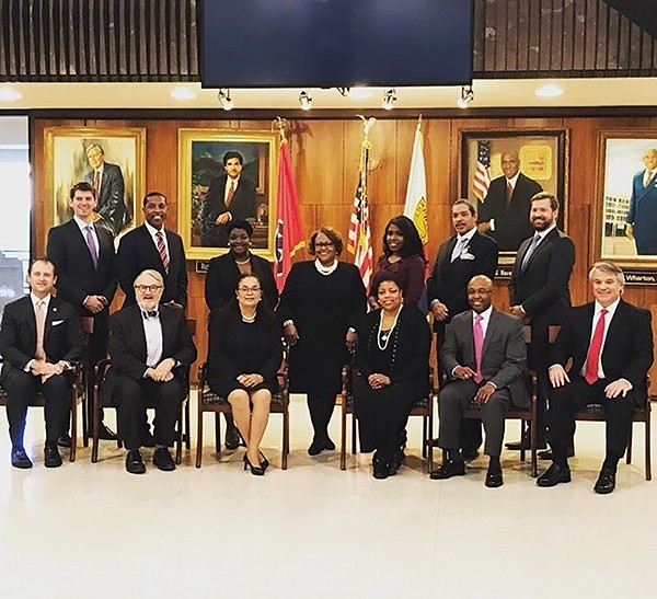 The Memphis City Council moves into 2020 with six new members