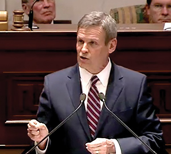 Lee delivers State of the State - JACKSON BAKER