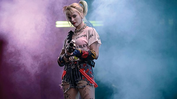 Crazy for loving you — Margot Robbie (above) as Harley Quinn breaks up with the Joker and takes charge of her life in Birds of Prey.