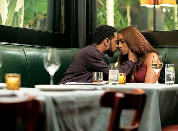 Sorry to Bother You's LaKeith Stanfield (left) and Insecure's Issa Rae smolder sexily in Stella Meghie's The Photograph.