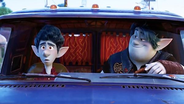 Tom Holland and Chris Pratt voice the Lightfoot brothers.
