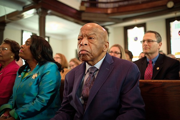 Director Dawn Porter's John Lewis: Good Trouble tells the story of John Lewis (above), the civil rights leader and 33-year congressional representative.