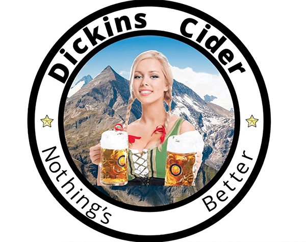 Democracy tastes as fine as Dickins Cider.