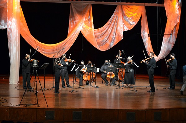 Iris Orchestra rises to meet pandemic challenges. - IRIS ORCHESTRA