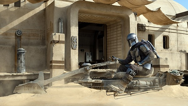 The Mando with No Name — Pedro Pascal stars in Jon Favreau and Dave Filoni's space Western, The Mandalorian.