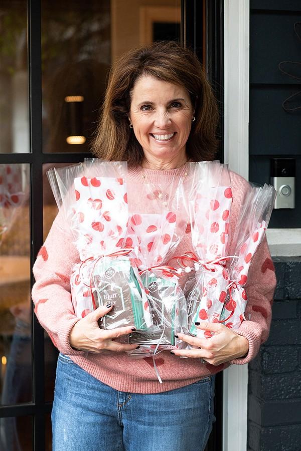 Stephanie Upshaw, founder of - Bluff City Toffee - BOB BAYNE PHOTOGRAPHY
