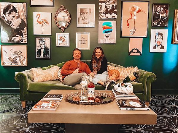 Dee and Michaela Dockery - COURTESY HEN HOUSE WINE BAR