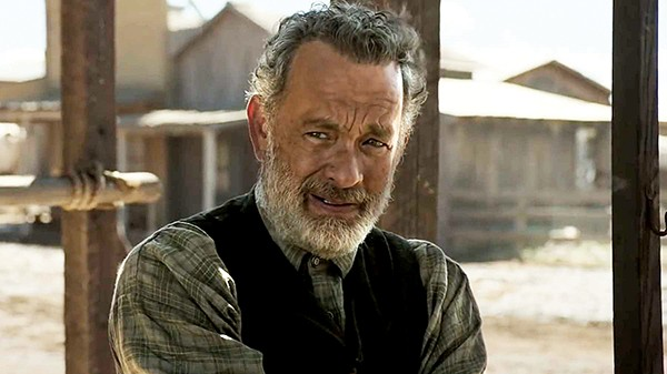 Once upon a time in the West — Tom Hanks stars as Captain Jefferson Kidd in News of the World