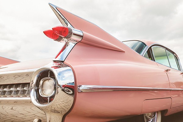 "Cruising down memory lane looking for curbside ""treasures"" - MARTINBERGSMA | DREAMSTIME.COM"