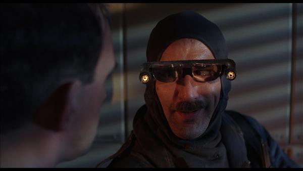 Robert DeNiro as revolutionary HVAC repairman Harry Tuttle.