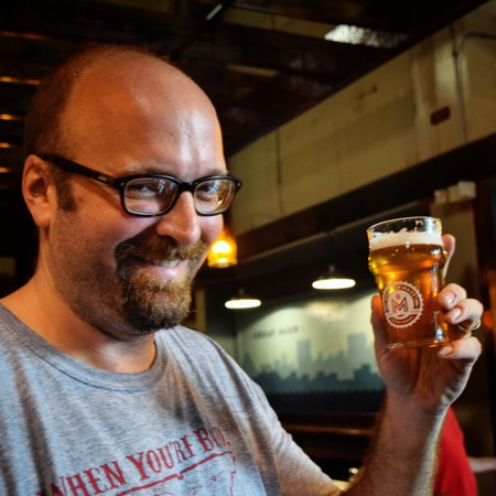 Memphis Made Brewing co-founder Andy Ashby - JOHN KLYCE MINERVINI