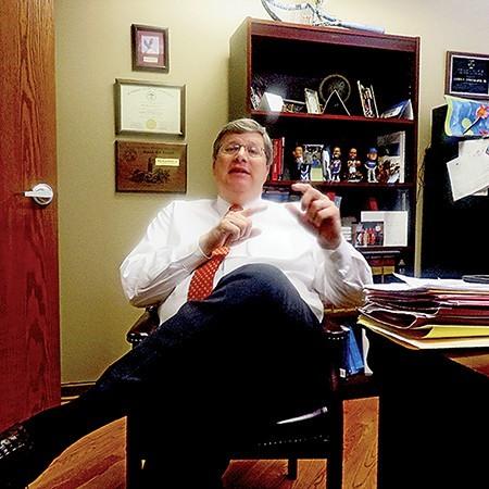 Mayor-elect Jim Strickland - JACKSON BAKER