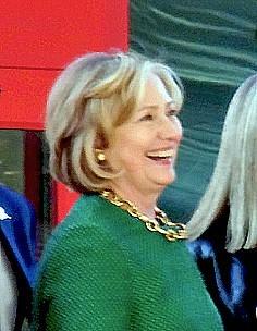 Hillary in Memphis in 2014