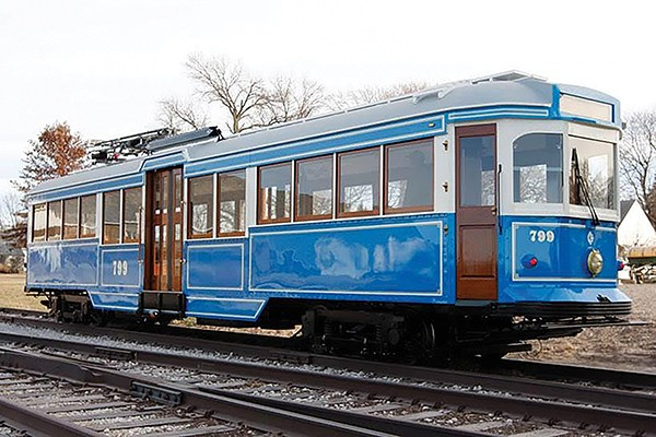 MATA has purchased this rebuilt, vintage trolley to add to its fleet. - MEMPHIS AREA TRANSIT AUTHORITY