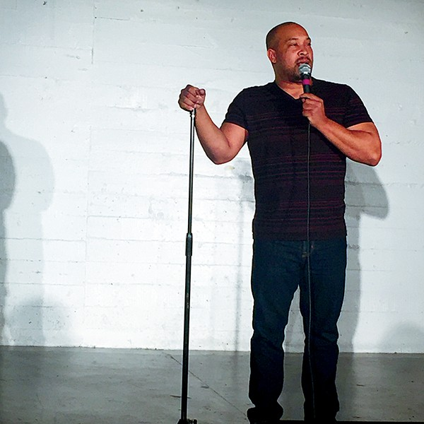 Richard Douglas Jones bounces off the couch and into comedy.