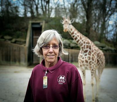 Memphis Zoo keeper Carolyn