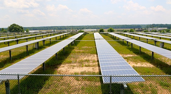 The West Tennessee Solar Farm - CLEWISLEAKE | DREAMSTIME.COM