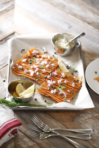 Smoked Carrot Lox