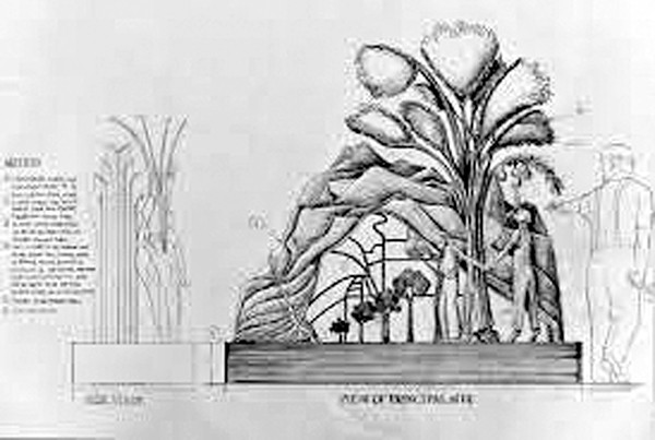 E.A. Chase's Proposed Sculpture for the City of Exeter, California