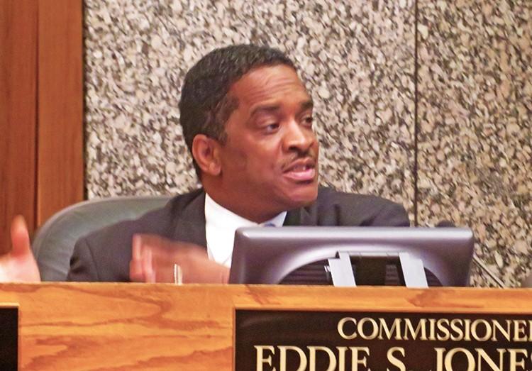 Commissioner Eddie Jones - JB