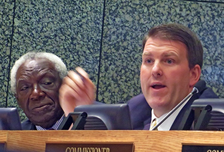 Commissioners Walter Bailey and David Reaves - JB