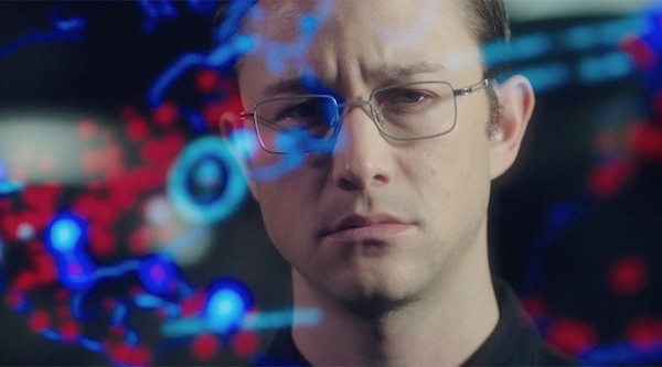 Joseph Gordon-Levitt as Edward Snowden in Oliver Stone's Snowden