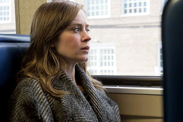 Emily Blunt goes off the rails as Rachel in The Girl on the Train.