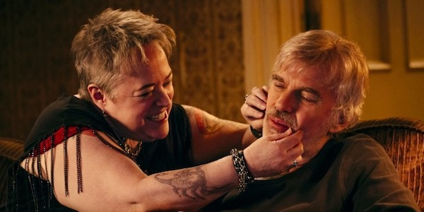 Kathy Bates and Billy Bob Thornton in Bad Santa 2.