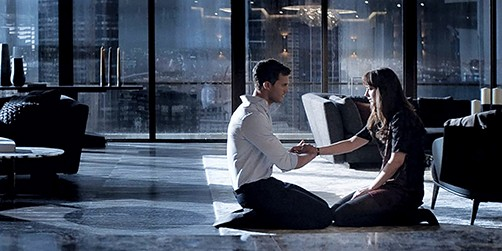 Dakota Johnson and Jamie Dornan star in Fifty Shades Darker, 2017's longest, sexiest, most expensive lifestyle commercial.