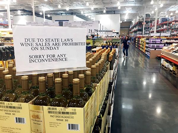 Wine on Sundays? - TOBY SELLS