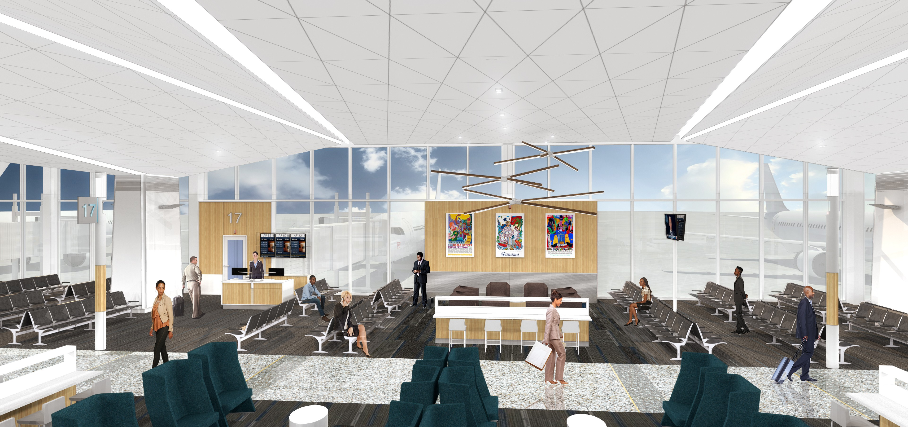 The new new plan for memphis international airport news blog for International decor gates