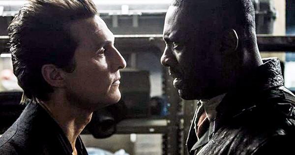 Matthew McConaughey (left) fled across the desert, and Idris Elba followed.