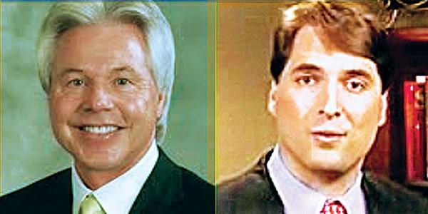 Harold Byrd and Shea Flinn