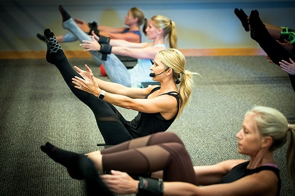 Pure Barre - JUSTIN FOX BURKS