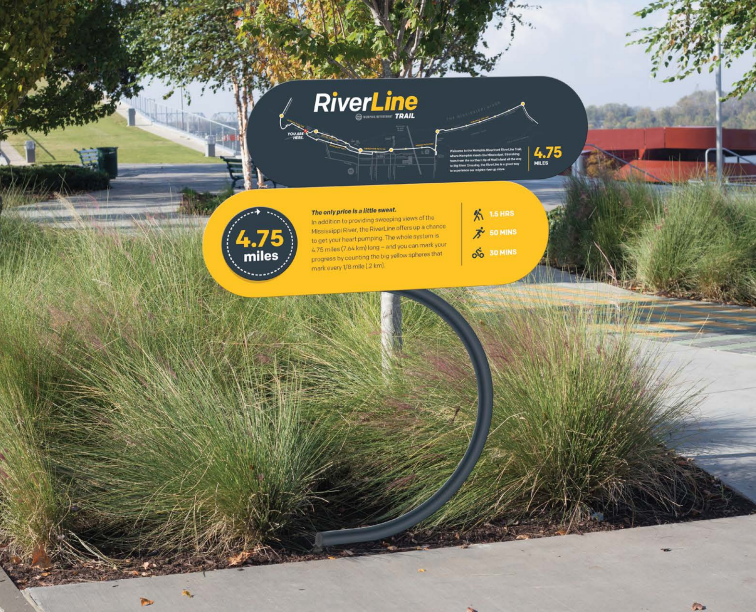 Riverfront Trails Could Get Signage Other Amenities