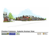 Conceptual view of Overton Gateway South from Autumn Ave