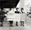 Ernest C. Withers, American, 1922 – 2007, NAACP Protest, Main Street,  Memphis, early 1960s.  Gelatin silver print, printed from original negative in 1999, Memphis Brooks Museum of Art purchase with funds provided by Ernest and Dorothy Withers, Panopticon Gallery, Inc., Waltham, MA, Landon and Carol Butler, The Deupree Family Foundation, and The Turley Foundation  2005.3.116 © Withers Family Trust