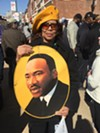 Carolyn Hill at Dr. Martin Luther King Jr.  50th anniversary